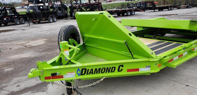 2020 Diamond C Trailers HDT207 Equipment Trailer