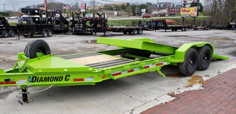 2020 Diamond C Trailers HDT207 Equipment Trailer