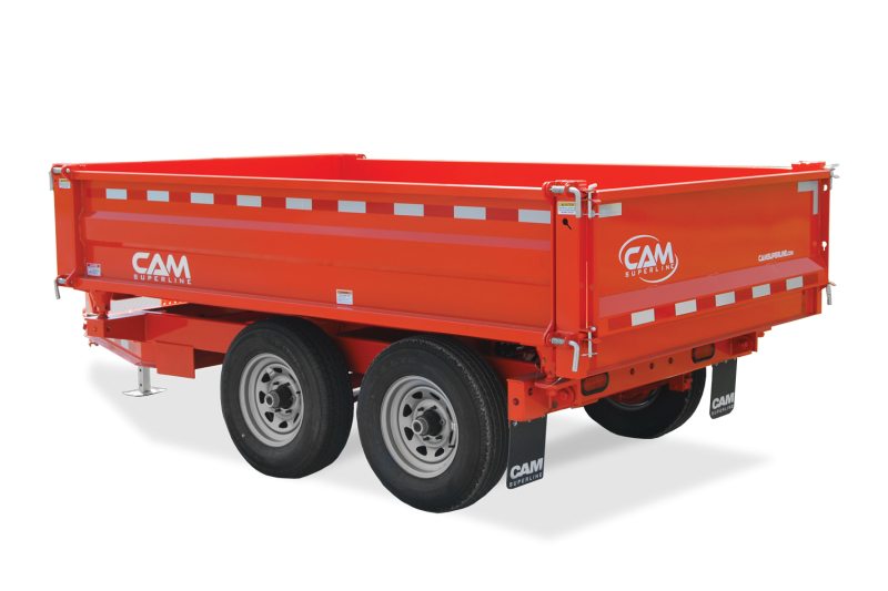 2021 Cam Superline 3 WAY DUMP 6X10 Dump Trailer