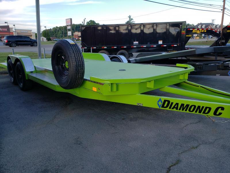 2020 Diamond C Trailers CHS 252 L 20X82 Car / Racing Trailer
