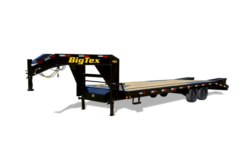 2021 Big Tex Trailers 14GN 20+5 Flatbed Trailer