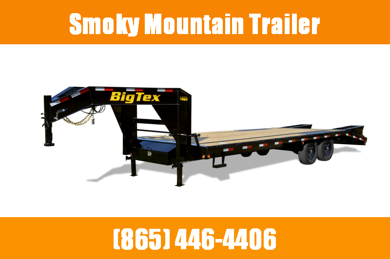 2021 Big Tex Trailers 14GN 20+5 Flatbed Trailer