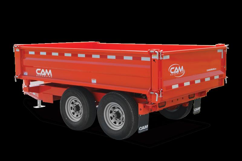 2021 Cam Superline 3 WAY DUMP 6X10 Dump Trailer