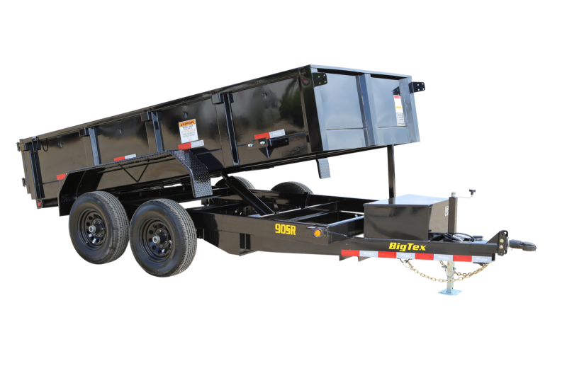 2021 Big Tex Trailers 90SR-12' Dump Trailer