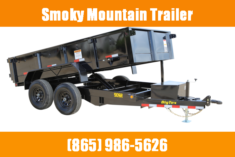2021 Big Tex Trailers 90SR-12' Dump Trailer