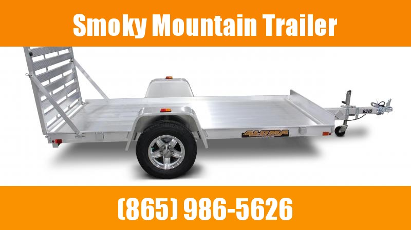 2021 ALUMA 6310 SINGLE AXLE Utility Trailer