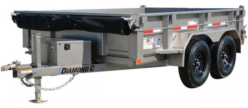 2021 Diamond C Trailers EDG 235 5X10 Dump Trailer