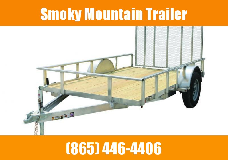 2021 Carry-On 6X12 ALUM/WOOD Utility Trailer