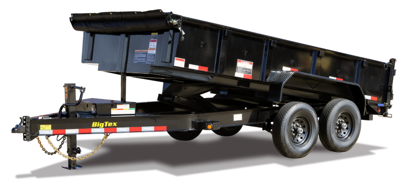 2021 Big Tex Trailers 14LP-14' Dump Trailer