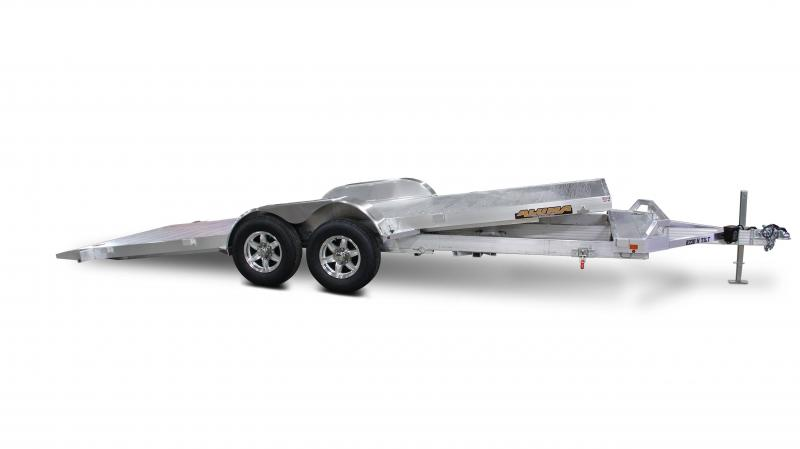 2021 Aluma 2021 ALUMA 8220H-TILT TA Car / Racing Trailer