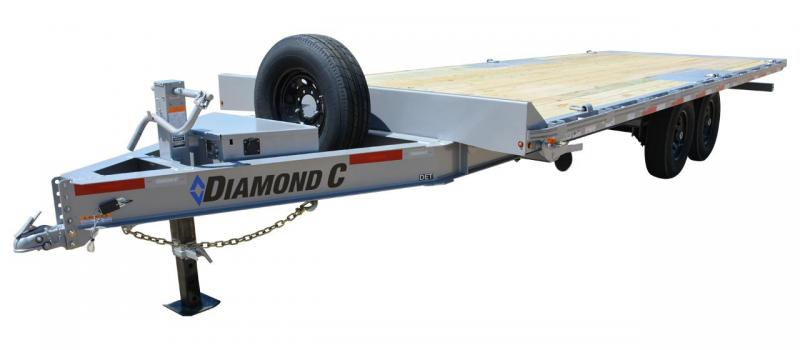 2021 Diamond C Trailers DET 208 22' Equipment Trailer
