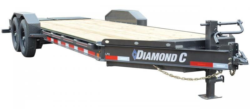 2021 Diamond C Trailers LPX207 20' Equipment Trailer