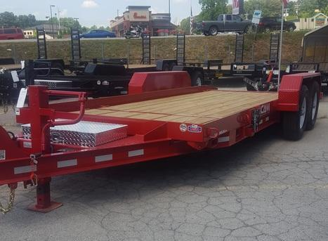 2020 CAM 15 + 4 14K Equipment Trailer