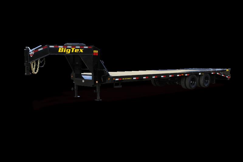 2021 Big Tex Trailers 25GN 25+5 Flatbed Trailer