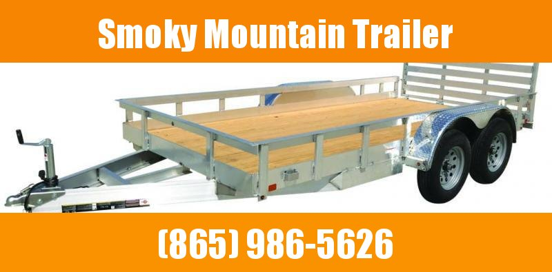 2021 Carry-On 6X12 7K TA ALUM Utility Trailer