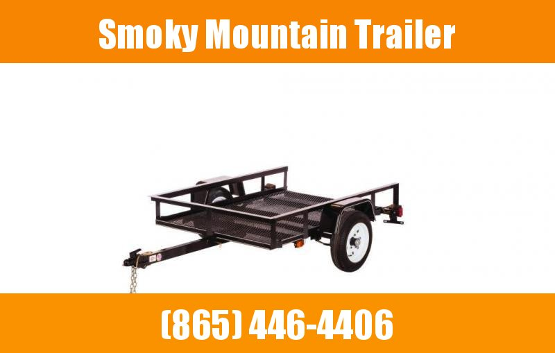 2021 Carry-On 4X8 SA NO GATE Utility Trailer