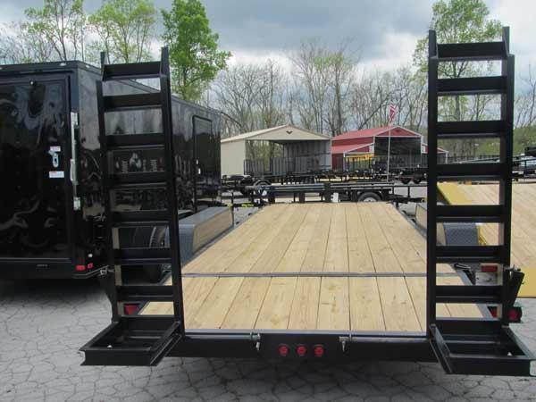 17+3 7 Ton Equipment Trailer