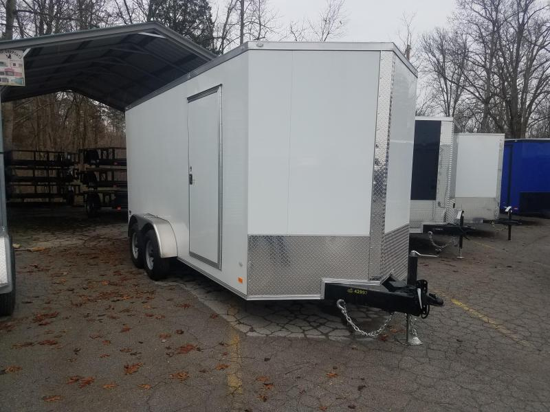 2020 COVERED WAGON 7X16  7K DBL DOOR