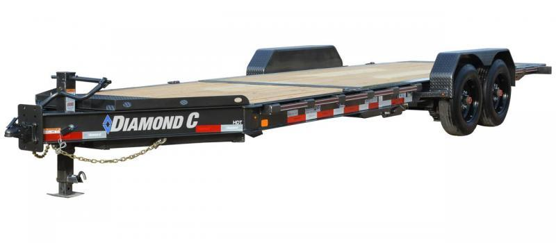 2021 Diamond C Trailers HDT207 20' Equipment Trailer