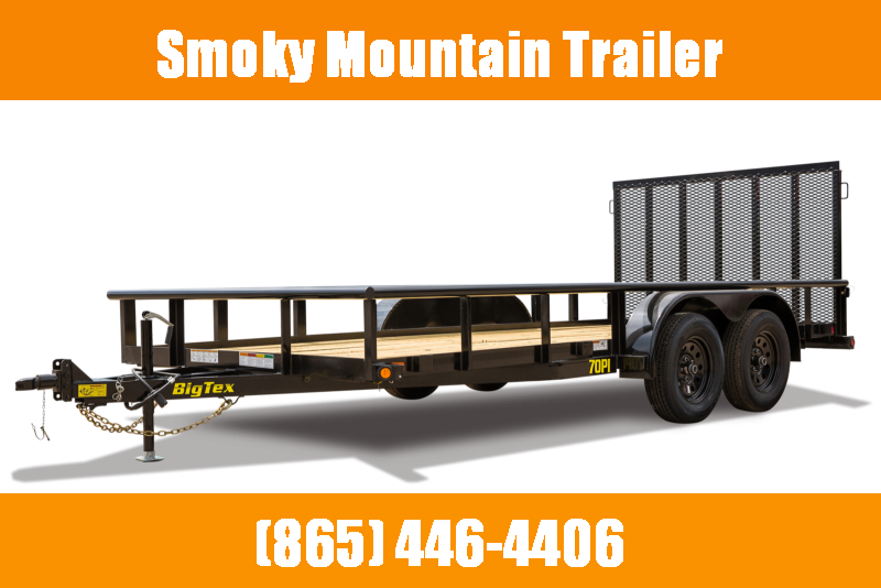 2021 Big Tex Trailers 70PI-16' Utility Trailer