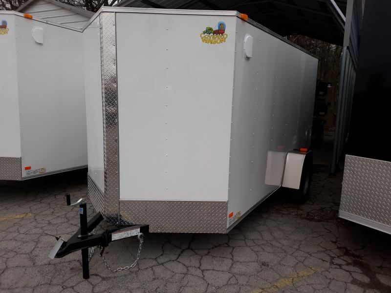 2020 COVERED WAGON 6X12 DBL DOOR