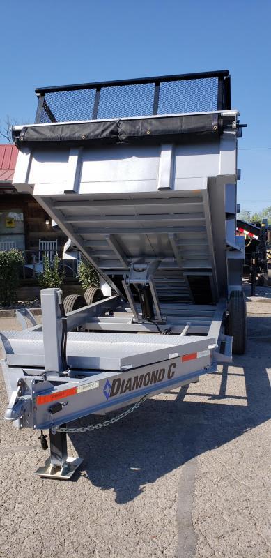 2020 Diamond C Trailers LPD207 14X82 7 GA BODY Equipment Trailer