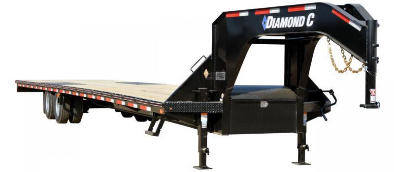 2021 Diamond C Trailers FMAX210 25+5 Flatbed Trailer