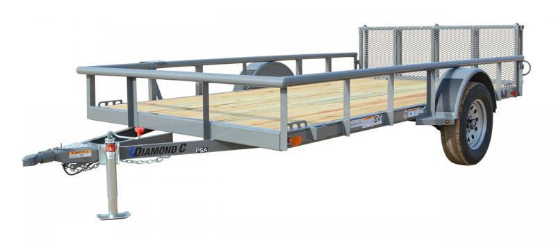 2021 Diamond C Trailers PSA 6.4X12 SA Utility Trailer