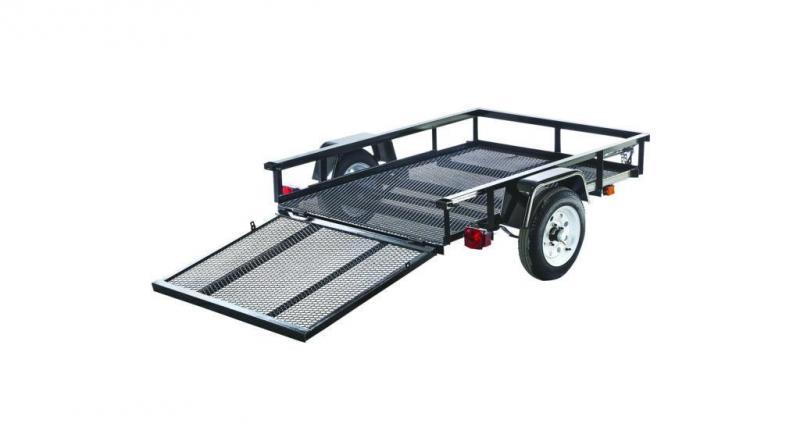 2021 Carry-On 4X8 SA GATE Utility Trailer