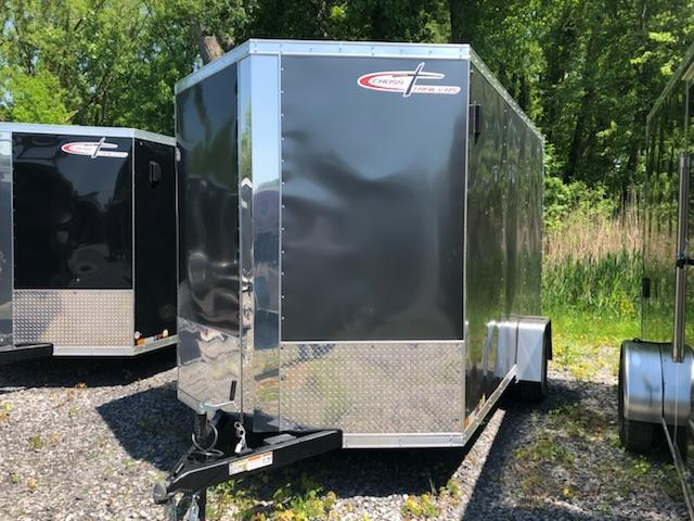 Cross 7x12 Enclosed Cargo Trailer w/ Ramp Door