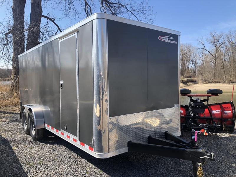 Cross 7x18 12K Enclosed Cargo Trailer w/ Ramp Door