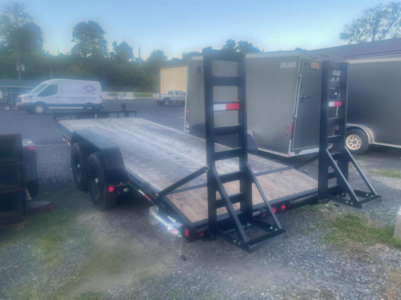 2021 PJ Trailers 83X20 Equipment Trailer