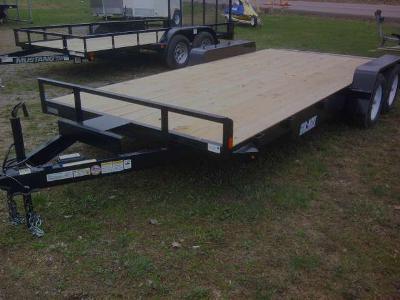 Car Mate 7 x 18 Plank Deck Angle Iron Car Hauler 7K