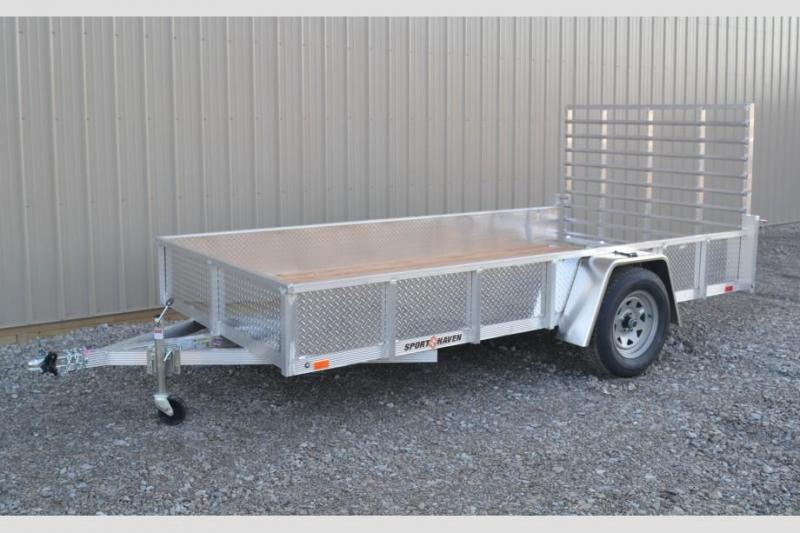 Sport Haven 6x10 Utility Trailer w/ ATP Sides