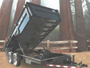 CJ Heavy Hauler Trailers 8314D Dump Trailer