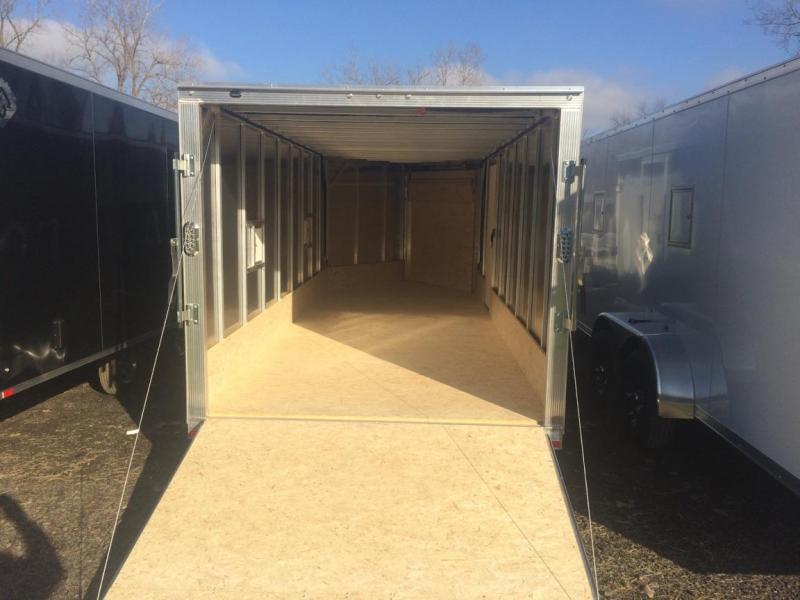 Sport Haven 4 Place Drive on Drive off  Snowmobile Trailer