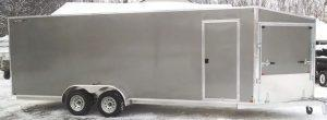 Nitro 7 x 22 Inline Drive In & Drive Out 4 Place Snowmobile Trailer