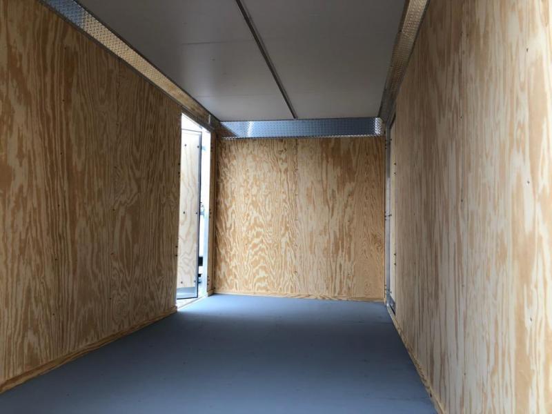 2021 Car Mate Trailers 7x12 14K Enclosed Cargo Trailer