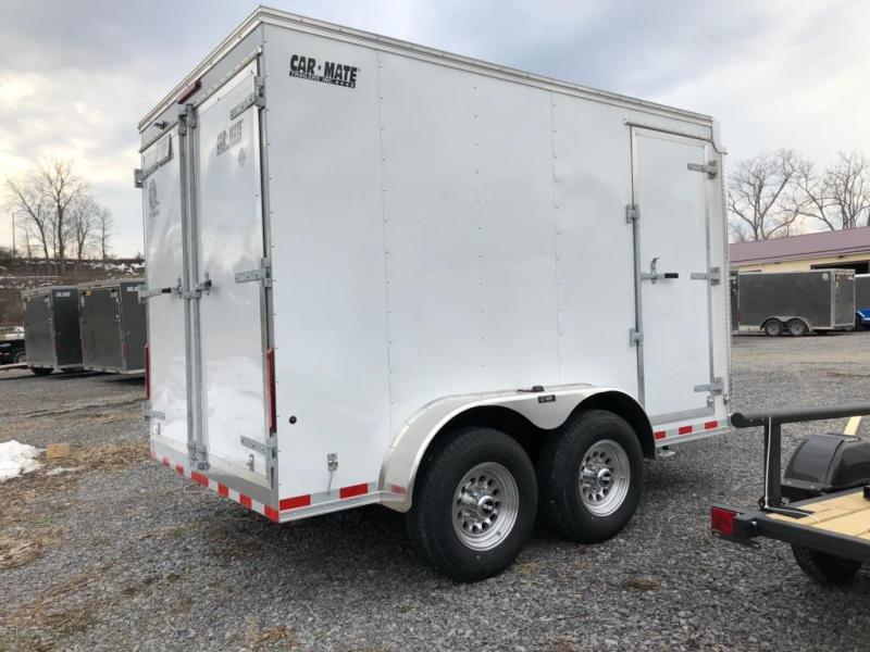 2021 Car Mate Trailers 7x12 14K Enclosed Cargo Trailer