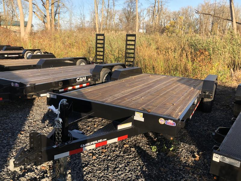 CAM Superline 7x18 Wood Deck 7K Car Hauler