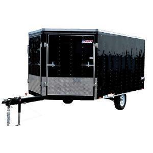 Pace American PWFT 8.5 x 12 Snowmobile Trailer