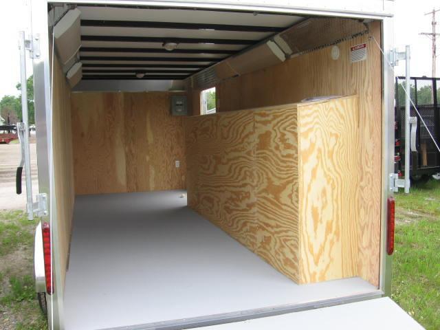Car Mate 7x18 Custom Cargo Contractor Tool Box Series w Barn Door