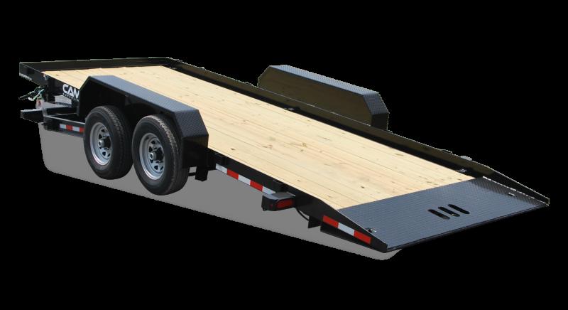 CAM Superline 7x18 Full Deck Tilt Trailer