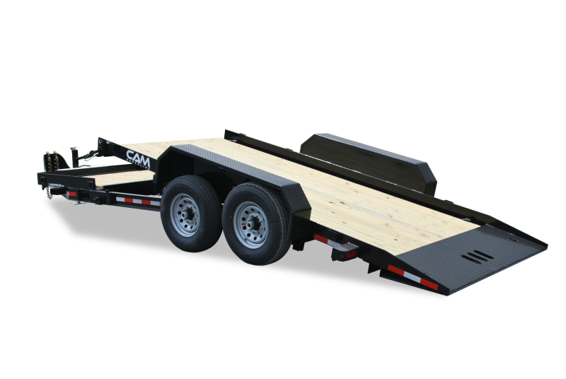 CAM 7x19 Split Tilt Bed Trailer 12K