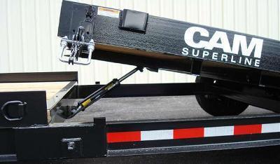 CAM 7x19 Split Tilt Bed Trailer 12K