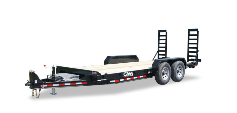CAM Superline 7x18 Channel Frame 16K Equipment Trailer