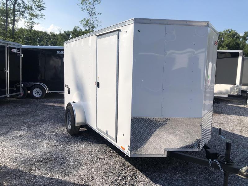 Pace American 6x12 Journey V Nose Cargo Trailer with Barn Doors