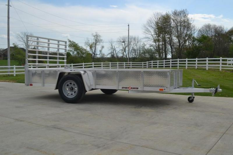 Sport Haven 5x10 Utility Trailer w ATP Sides