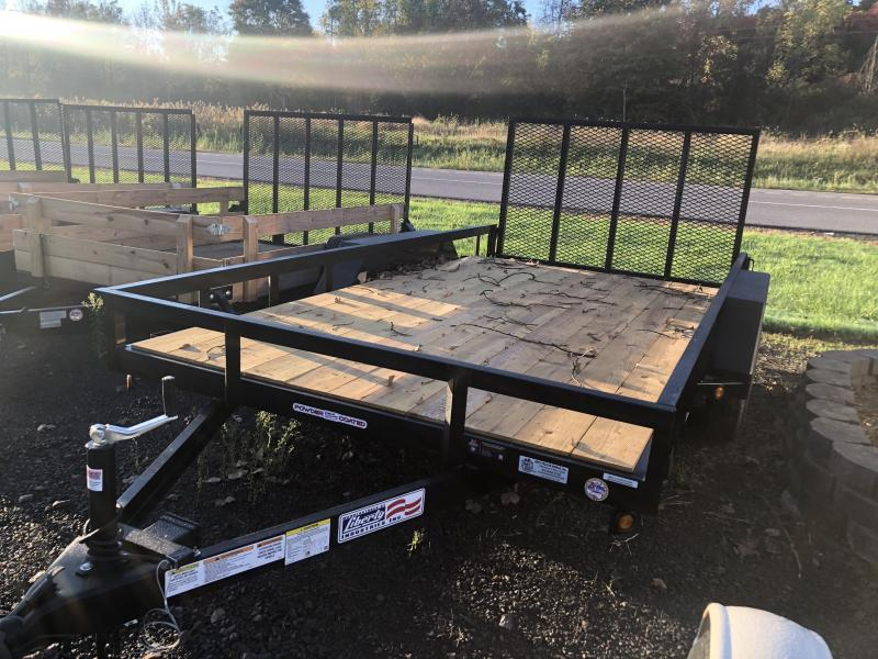 Liberty 83 x 12 Channel Landscape 5200 LBS Utility Trailer