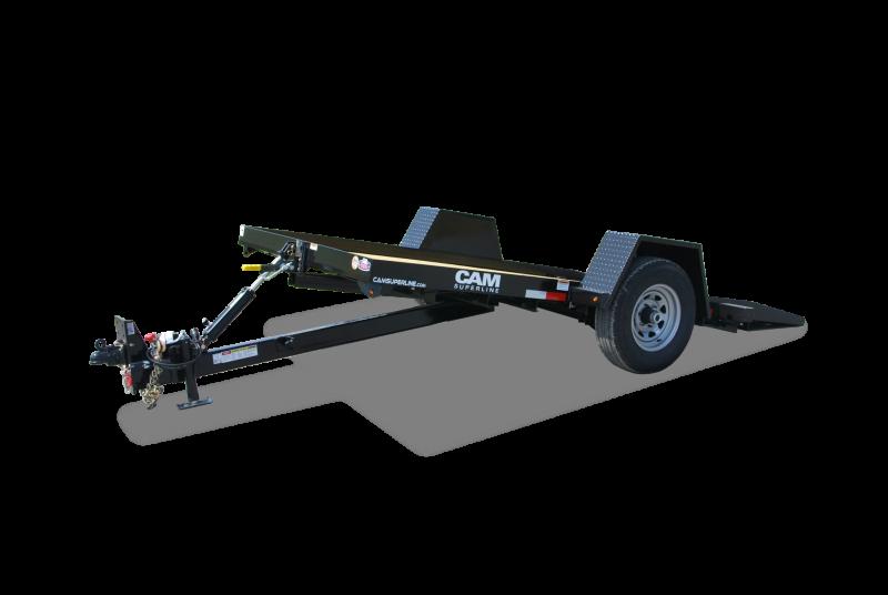 CAM Superline 6x12 Single Axle Full Tilt Trailer